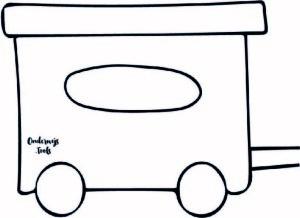 A4 wagonnetje