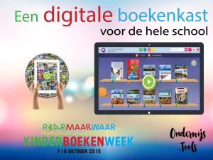 Kinderboekenweek: Een digitale boekenkast voor de hele school