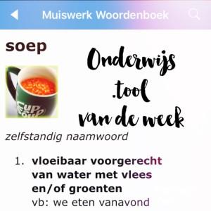 Onderwijs .tool van de week: Muiswerk Woordenboek