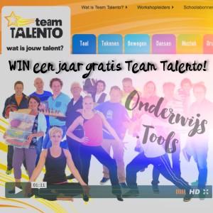WIN een jaarabonnement voor je hele school op TeamTalento.nl, Wat is jouw talent?