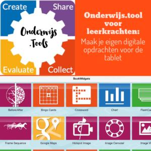Onderwijs.tool voor leerkrachten: Maak je eigen digitale opdrachten voor de tablet