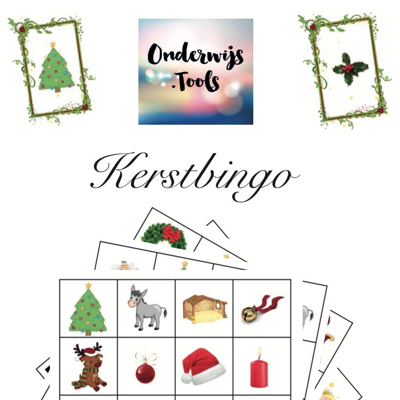 Om 2016 mee af te sluiten: Kerstbingo!
